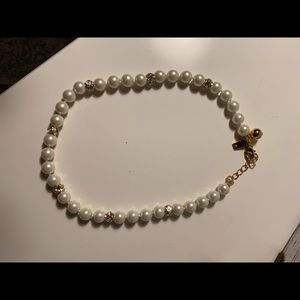 Kate Spade pearl necklace NEVER WORN